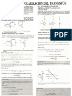 Polarizacion Del Transistor 1