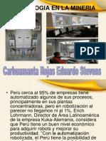 Tecnologia en La Mineria