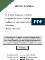 1 El Sistema Empresa (1)