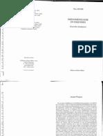 Richir - Phénomenologie en esquisses (Avant propos)