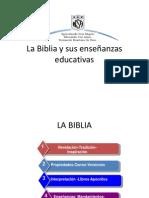 La Biblia y sus enseñanzas educativas