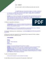 Actividad de La Unidad 1 - Organización de Computadoras