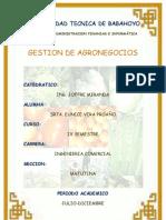Principales Rubros Del Ecuador