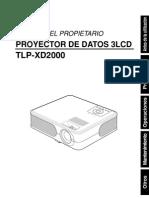 Proyector Toshiba XD2000
