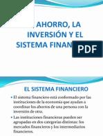 Ahorro, Inversion y Sistema Financiero