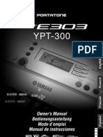Manual Yamaha Prs E-303