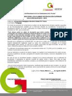 Carta Compromiso 2013 PED