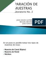 PREPARACIÓN DE MUESTRAS