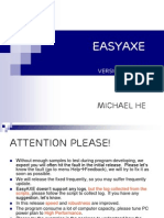 EasyAXE User Guide