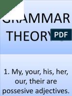 Grammar Theory 3