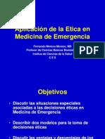 Etica en Emergencias