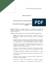 Proyecto de Ley _Democratización, transparencia, y organización del sistema de clasificación docente_