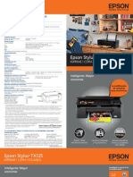 Manual de Epson Tx125