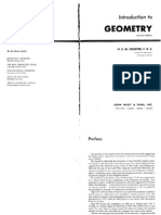 Coxeter - Introduction to Geometry