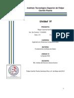 Roger Caamal Santiago Unidad6 Fundamentos de Base de Datos-.Isc j4
