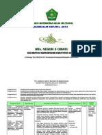 (4.1) Silabus Matematika SMP_MTs. Kls VII Kurikulum 2013