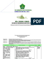 (4.2) Silabus Matematika SMP_MTs. Kls VIII Kurikulum 2013
