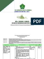 (4.3) Silabus Matematika SMP_MTs. Kls IX Kurikulum 2013