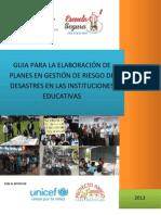GUIA PARA ELABORACIÓN DE PLANES EN GRD