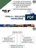 4- Solución de problemas