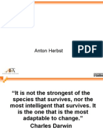"The Future is Now Anton Herbst ""It is Not"