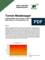 Tunnel Modaksagar Facts