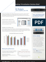 Nutanix VDI Solution Brief