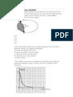 Dinâmica - 8ª Lista - Gravitação (1)