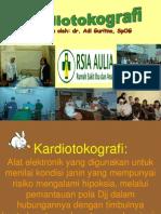 Kardiotokografi untuk Bidan
