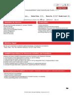 champs management plan 2013-14