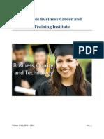 SBCTI Course Catalog