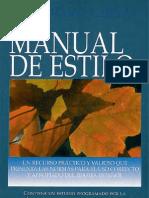 Un Manual de Estilo (Mario Llerena)