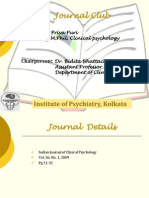 Journal Club 26.3.12