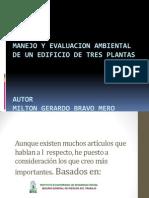 MANEJO Y EVALUACION AMBIENTAL DE UN EDIFICIO DE.pptx