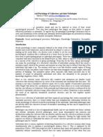 A Social Psychological Basis of Corruption and Sociopathology