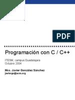 Programación con C / C++ | TEC 2004