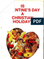 Dr Malachi z York - Is Valentine's Day a Christian Holiday