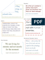 Journal Quotes Week 22 Color Sentence Sermons