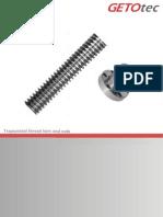 Trapezoidal Threads Catalogue 11