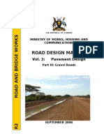 Uganda Gravel Roads Design, Vol.3