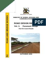 Uganda Gravel Roads Design, Vol.3