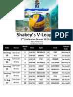 Shakey's V-League Season 10 Open Conference