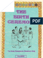Dr Malachi Z York - The Birth Ceremony
