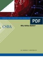 Why AirSea Battle