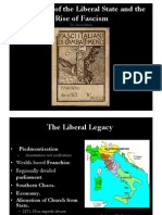 1. Fascist Rise to Power Italy