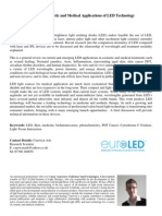 Emerging Cosmetic and Medical Applications of LED Technology - Caerwyn Ash White Paper