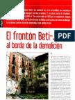 Reportaje en la Revista de la UNIÓN de ACTORES sobre el Beti-Jai