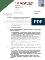 Preporuke za servis PP aparata