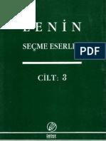 Lenin Secme Eserler C-3