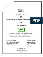"""INVENTORY MANAGEMENT AND RATIO ANALYSIS"